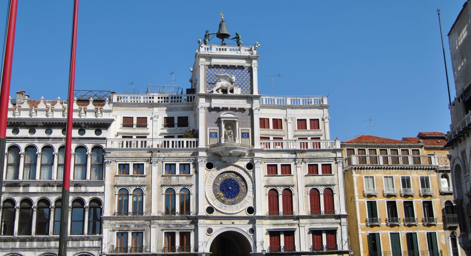 Torre del Reloj. qué ver en Venecia