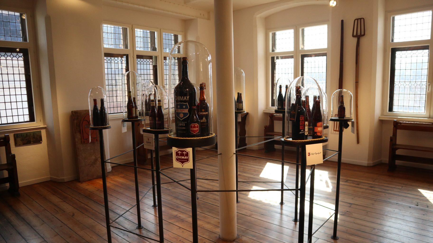 Una de las salas del museo. Bruges Beer Experience