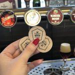 Tokens para las cervezas. Bruges Beer Experience