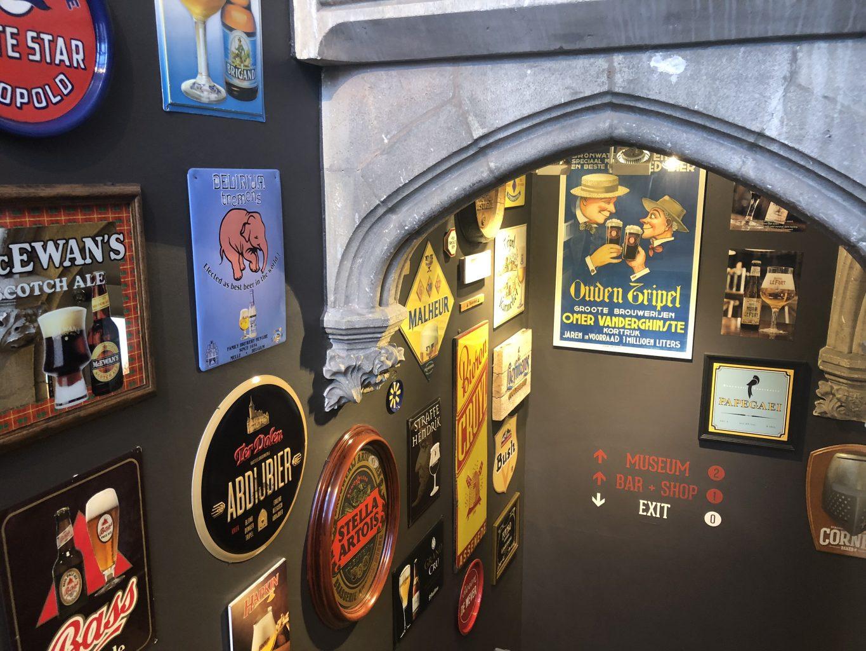 Entrada al museo. Bruges Beer Experience