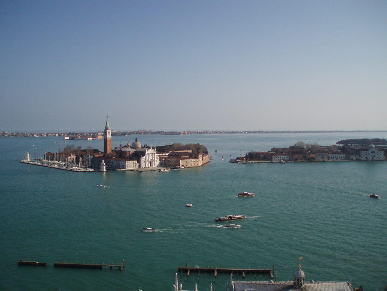 Vistas desde el Campanille. isla de San Giorgio Maggiore. qué ver en Venecia