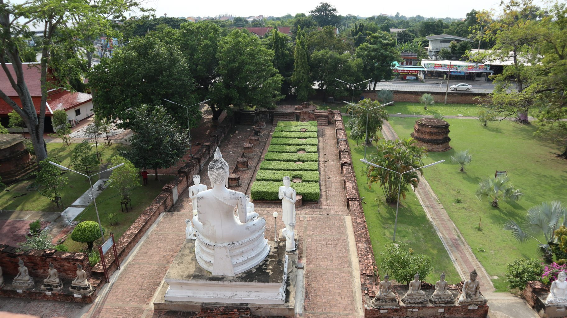 Vistas de Ayutthaya