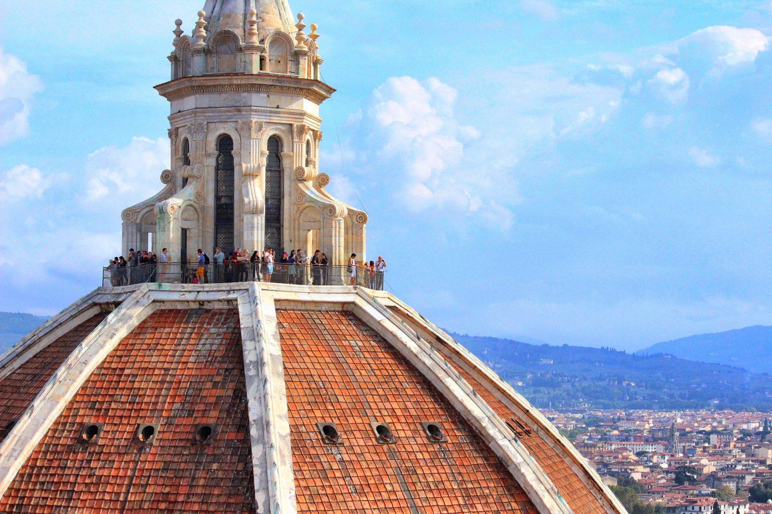 Mirador cúpula de Brunelleschi. quá ver en Florencia