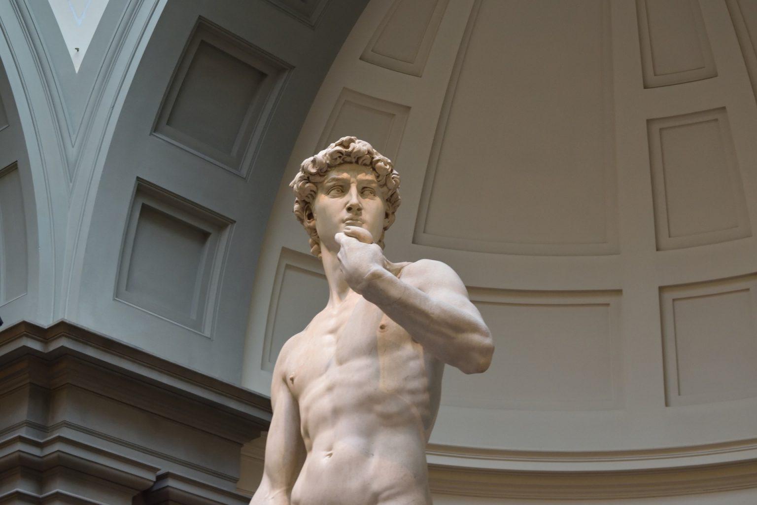 El David de Miguel Ángel. qué ver en Florencia