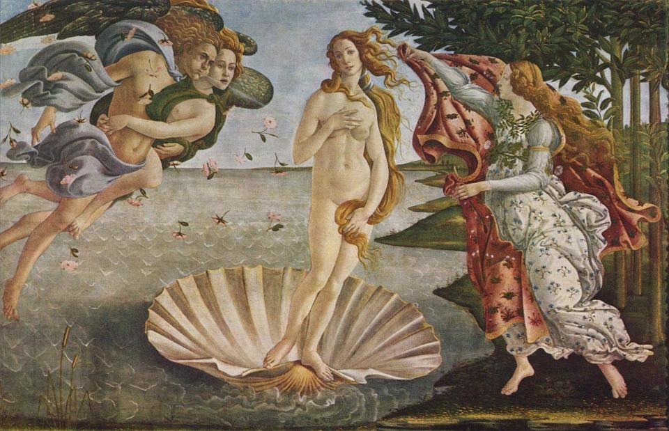 El nacimiento de Venus. qué ver en Florencia