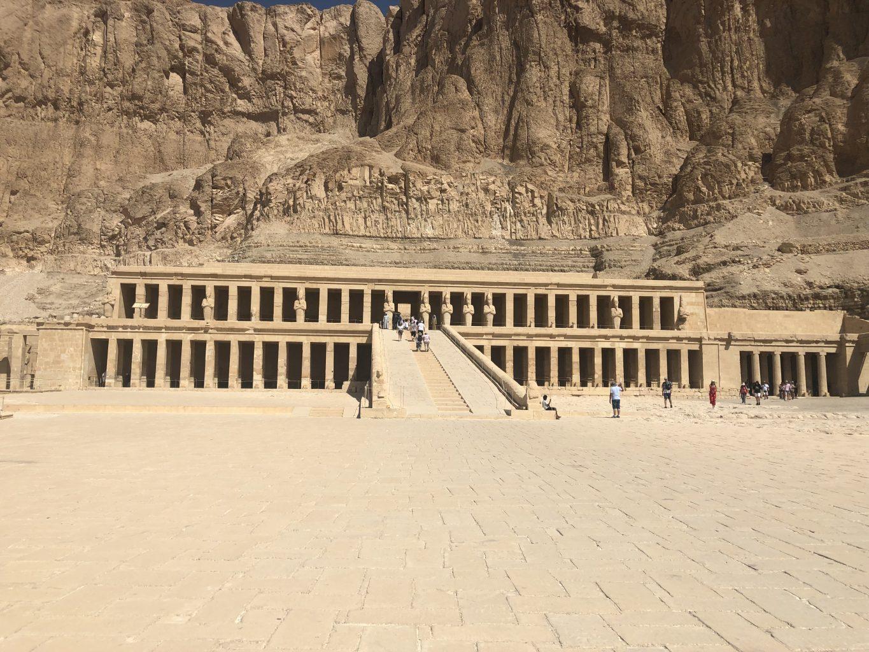 Templo funerario de Hatshepsut. Itinerario de 7 días por Egipto