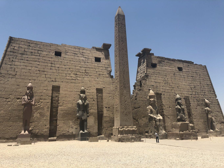 Templo de Lúxor. Templo funerario de Hatshepsut
