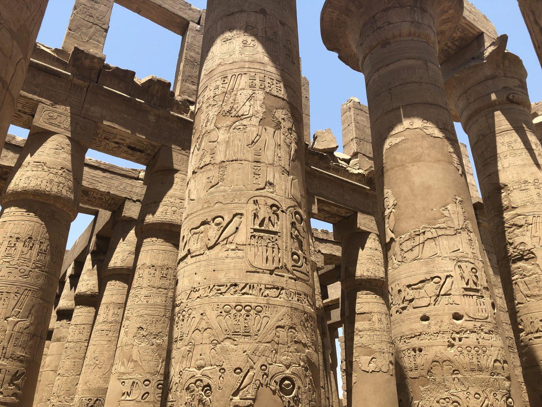 Templo de Karnak. Templo funerario de Hatshepsut