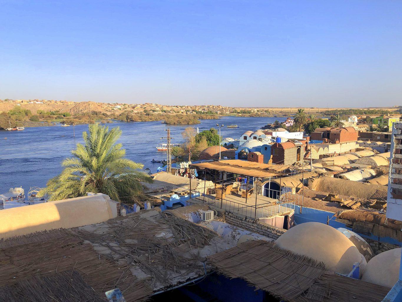 Vistas del poblado Nubio