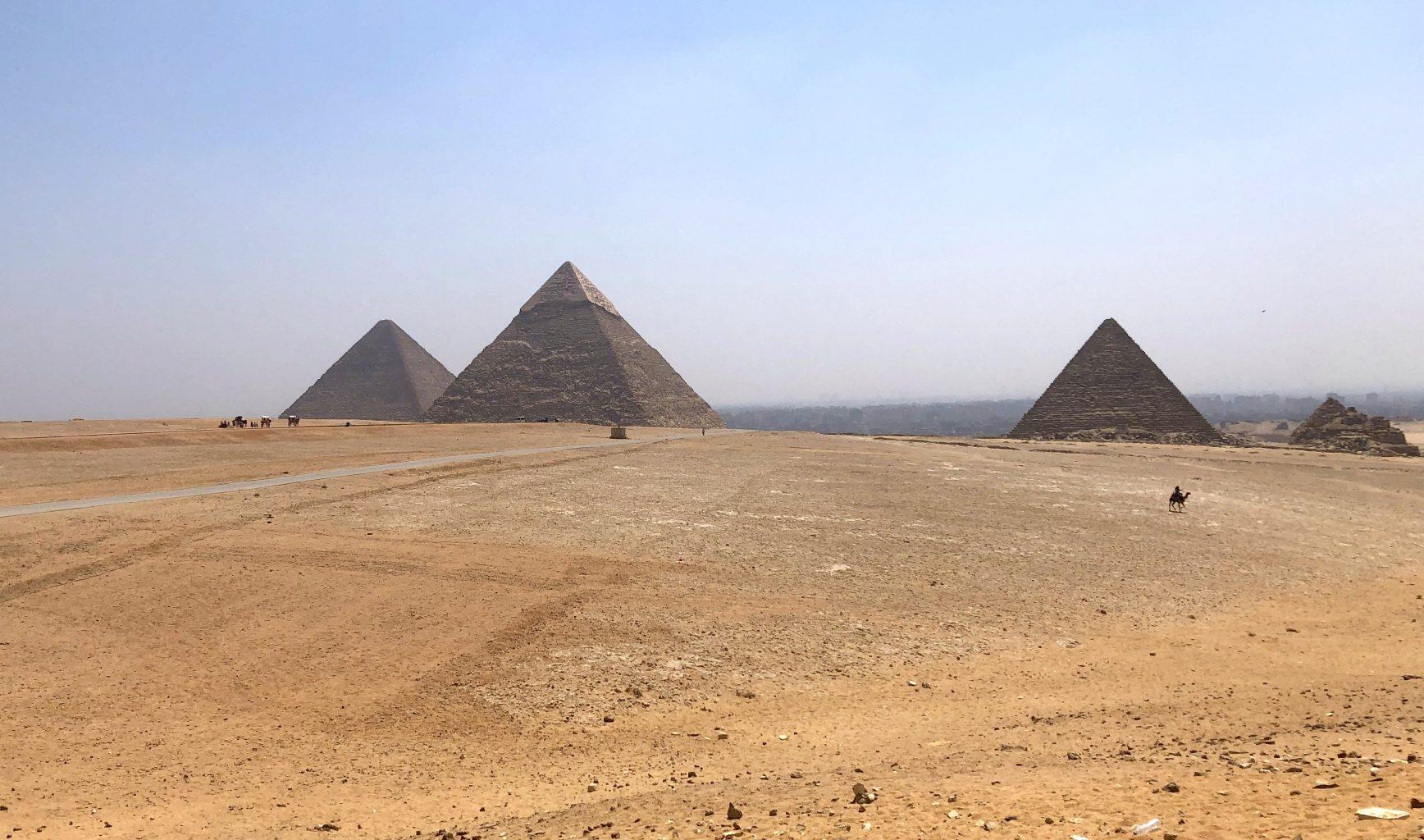 Pirámides de Guiza. ¿es seguro viajar a Egipto?