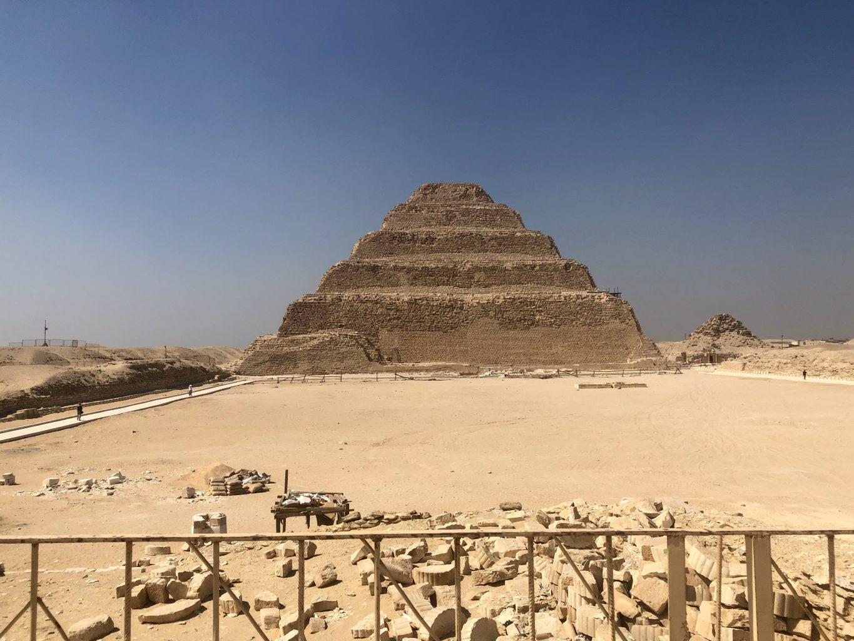pirámide de Zoser en Saqqara. qué ver en El Cairo