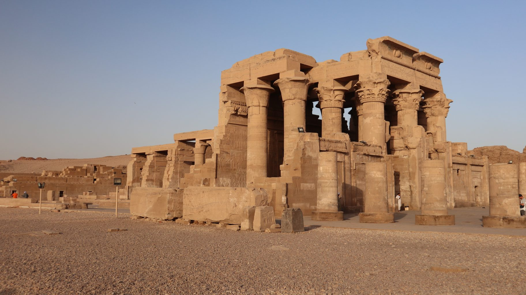 Templo de Kom Ombo. Templo funerario de Hatshepsut