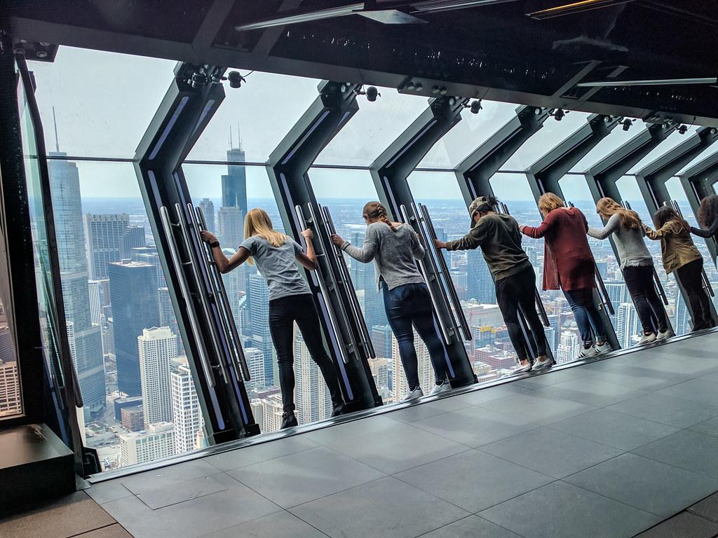 Plataforma de observación. qué ver y hacer en Chicago