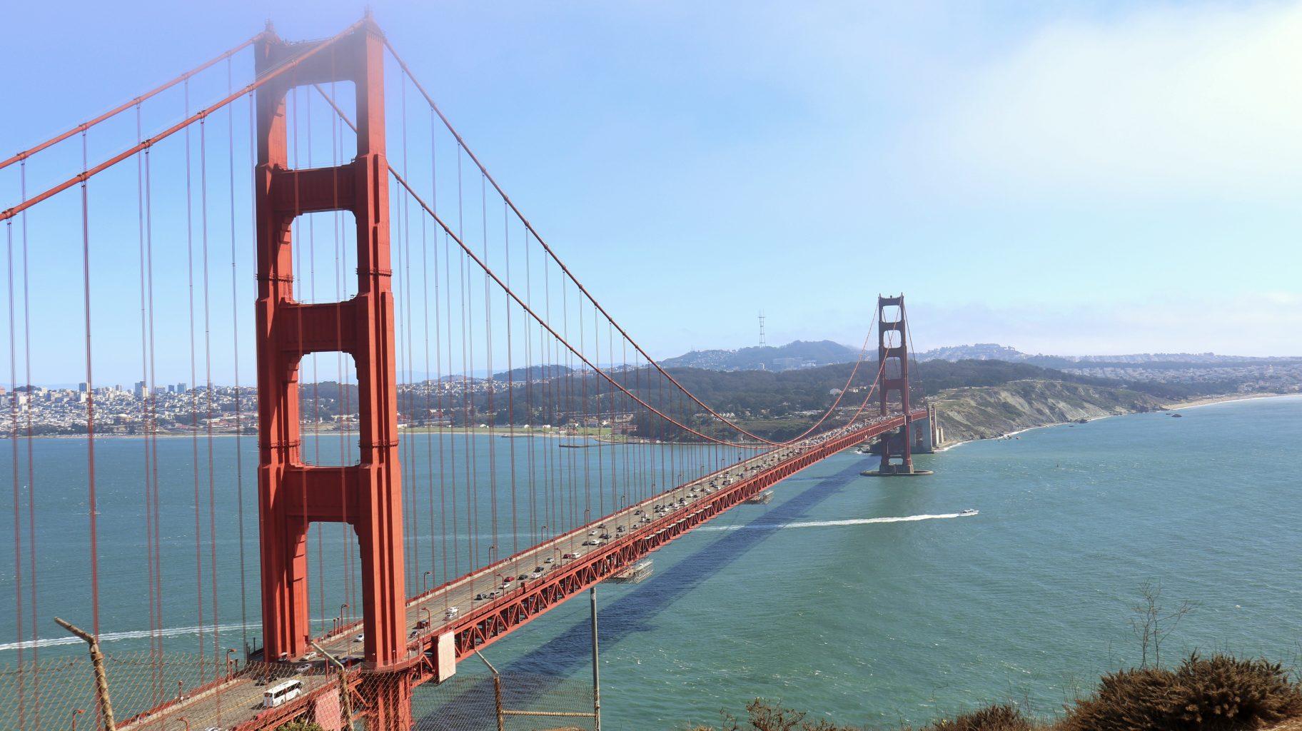 Golden Gate desde Battery Spencer. Qué ver y hacer en San Francisco