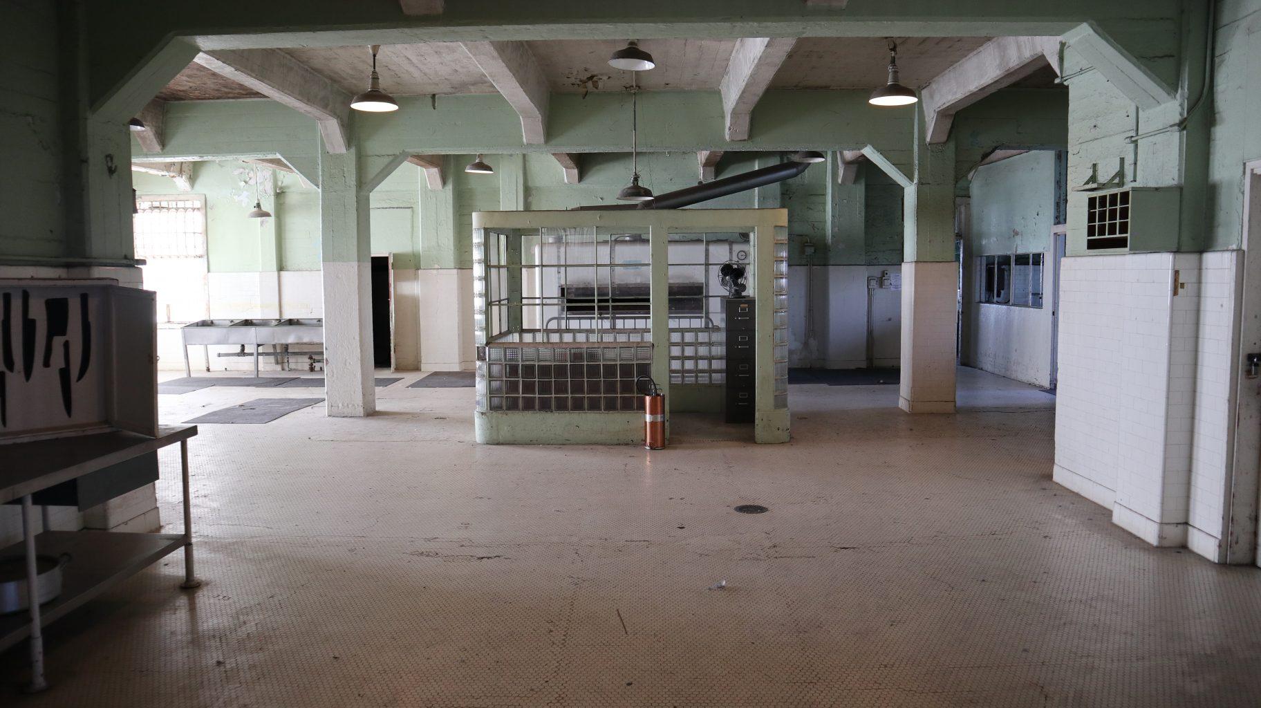 Cocina de Alcatraz. Visitar la cárcel de Alcatraz