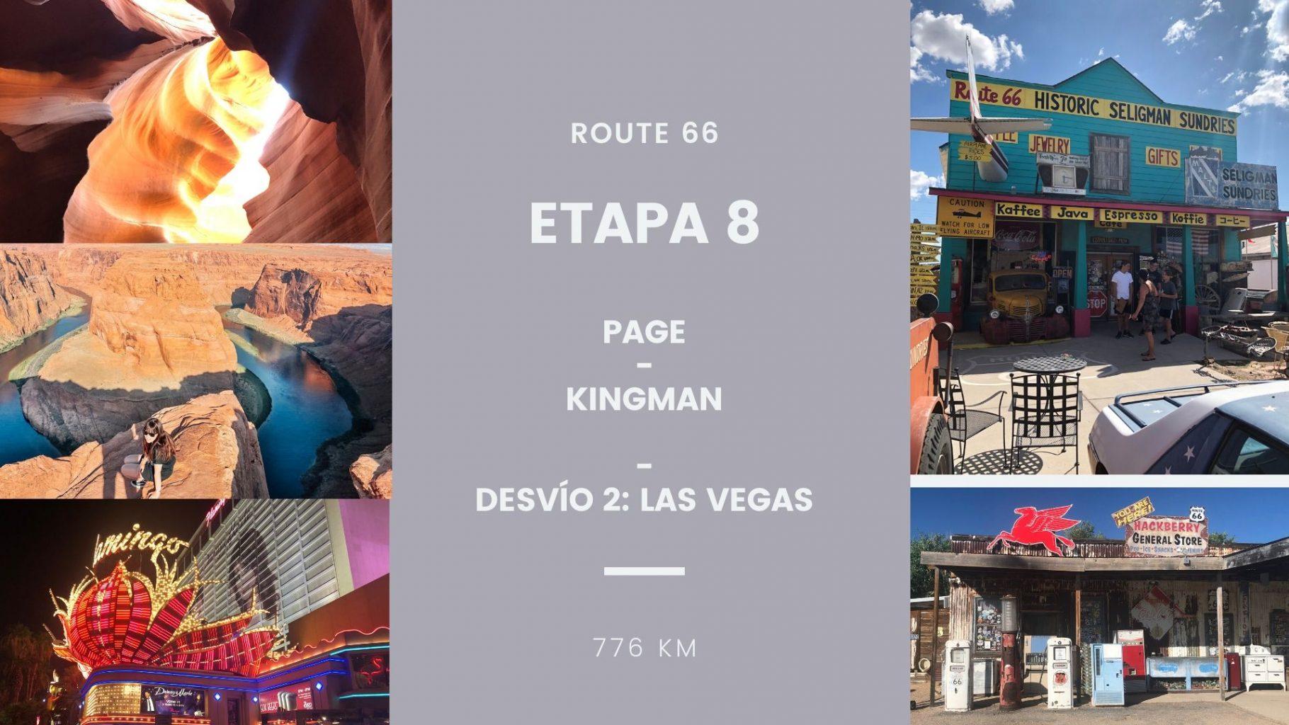 Ruta 66: Planificación por etapas