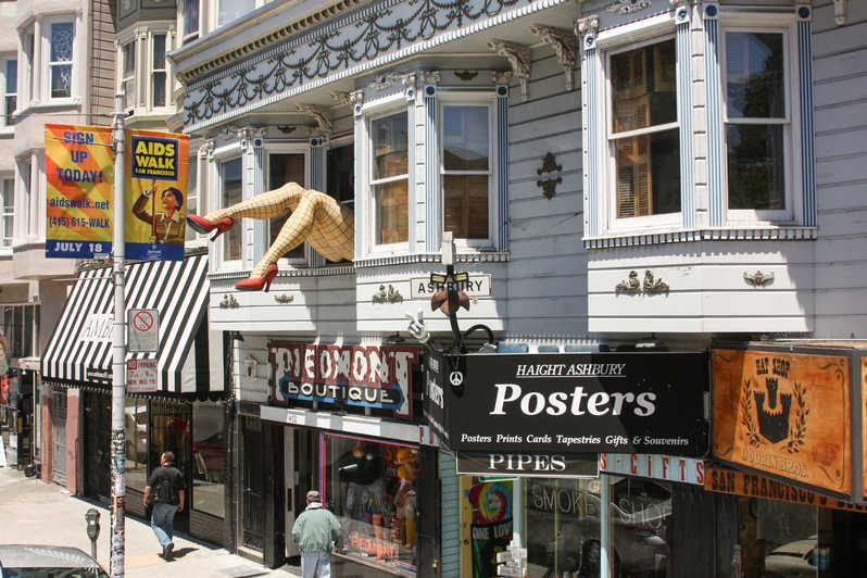 Tiendas de Haight-Ashbury. qué ver y hacer en San Francisco