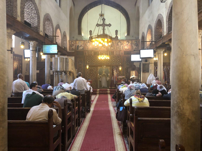 Iglesia de Santa Bárbara. qué ver en El Cairo