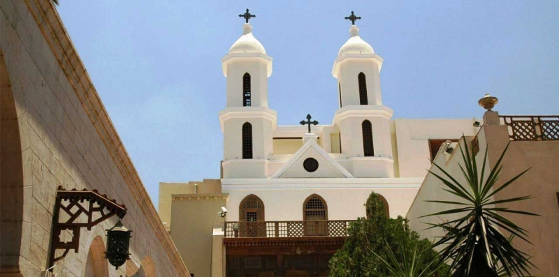 Iglesia Colgante. qué ver en El Cairo