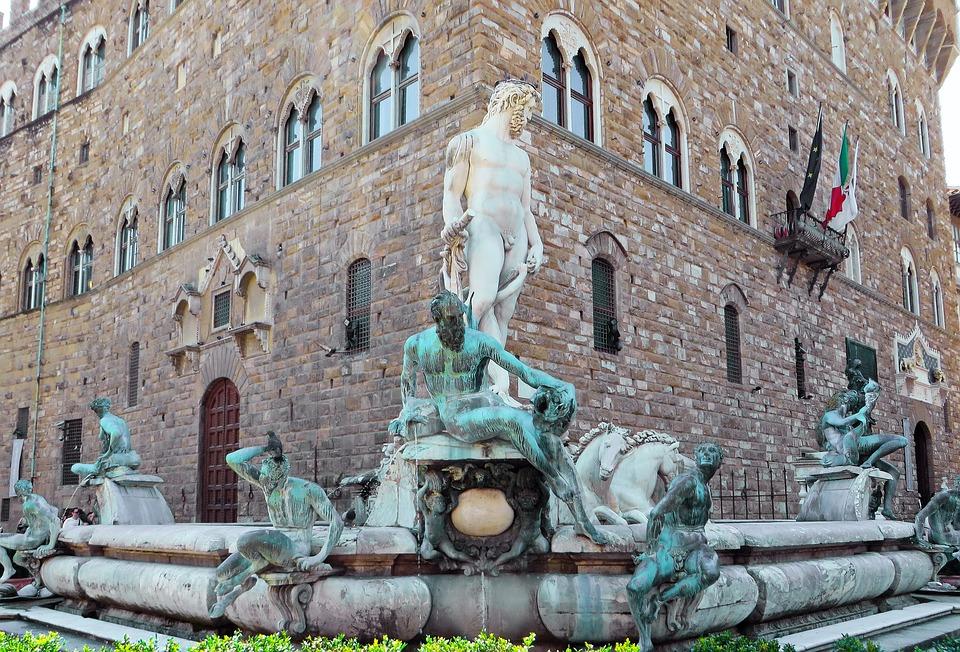 Fuente de Neptuno. qué ver en Florencia