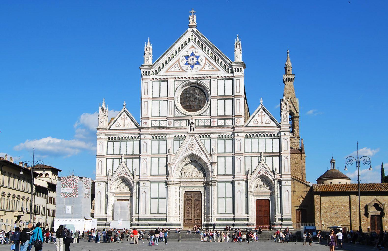 Iglesia della Santa Croce. qué ver en Florencia