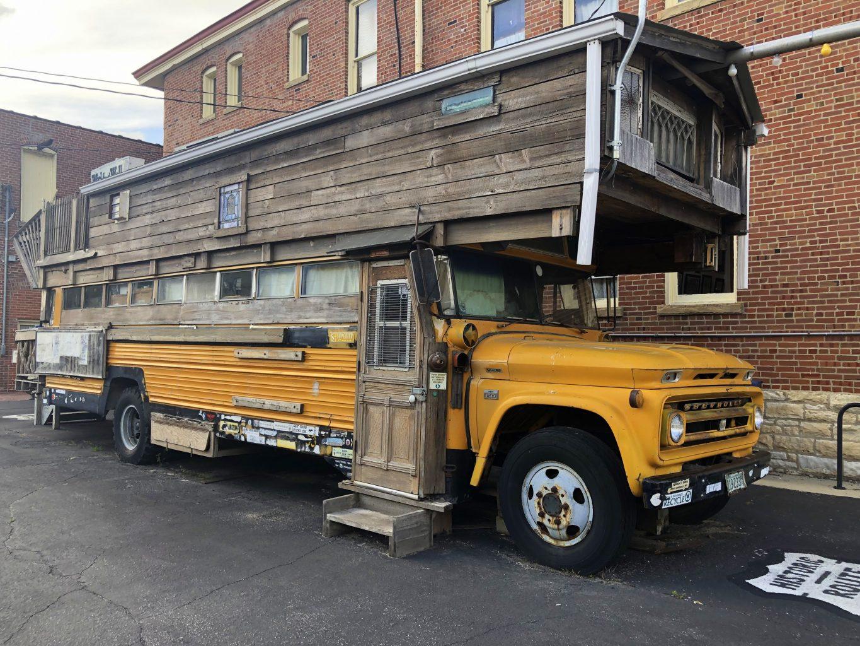 Schoolbus House