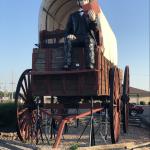 Railsplitter covered wagon