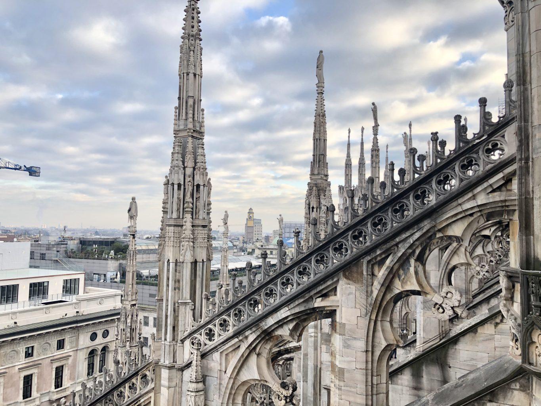 Vistas desde el Duomo. Qué ver y hacer en Milán