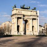 Arco della Pace. qué ver y hacer en Milán.