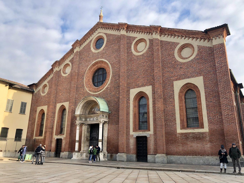 La Iglesia de Santa María delle Grazie. qué ver y hacer en Milán.