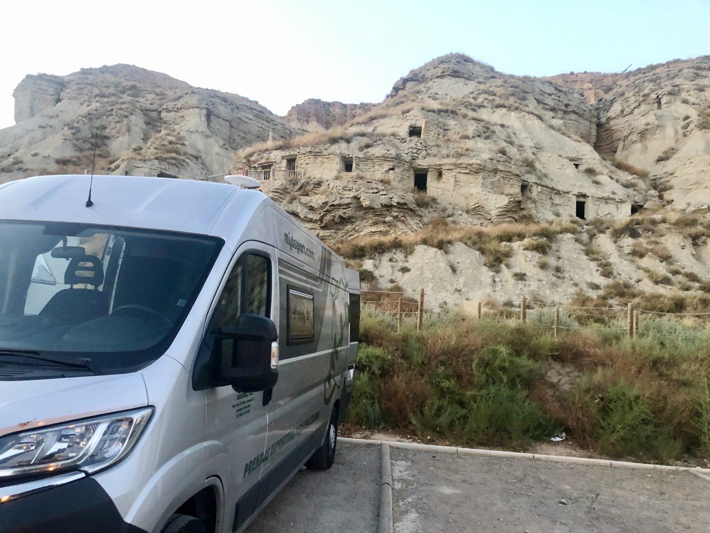 Área de autocaravanas gratuita en Árguedas