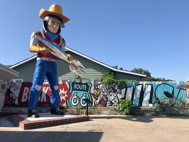 Buck Atom Space Cowboy. Ruta 66, Etapa 3: Springfield (Missouri) - Oklahoma City