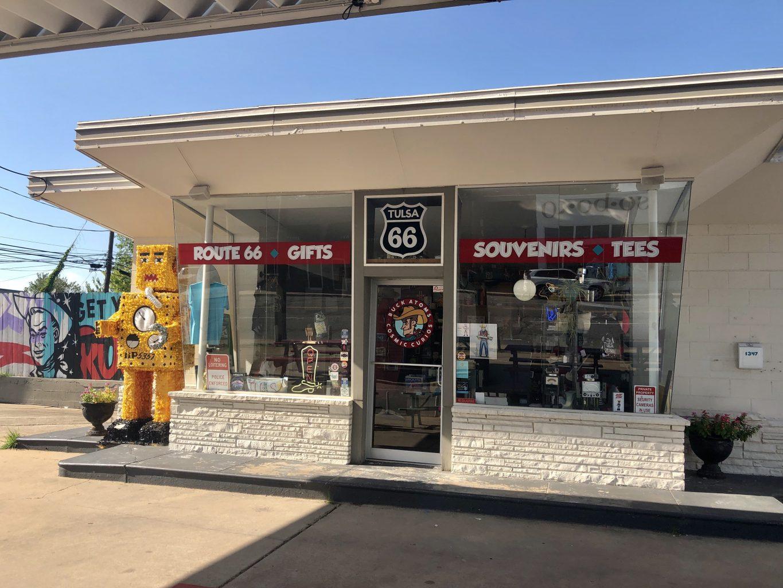 Buck Atom's Cosmic Curious shop on 66