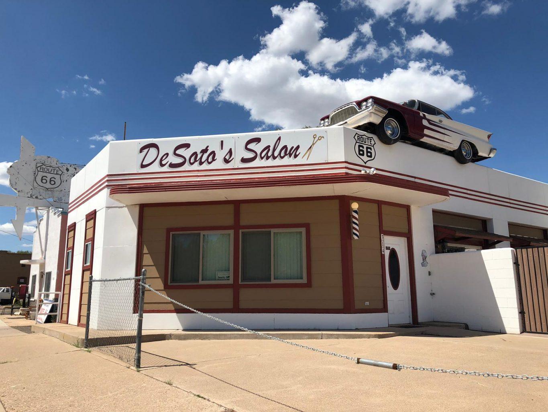 De Soto's Salon. RUTA 66, Etapa 8: Page - Ruta 66- Desvío a Las Vegas