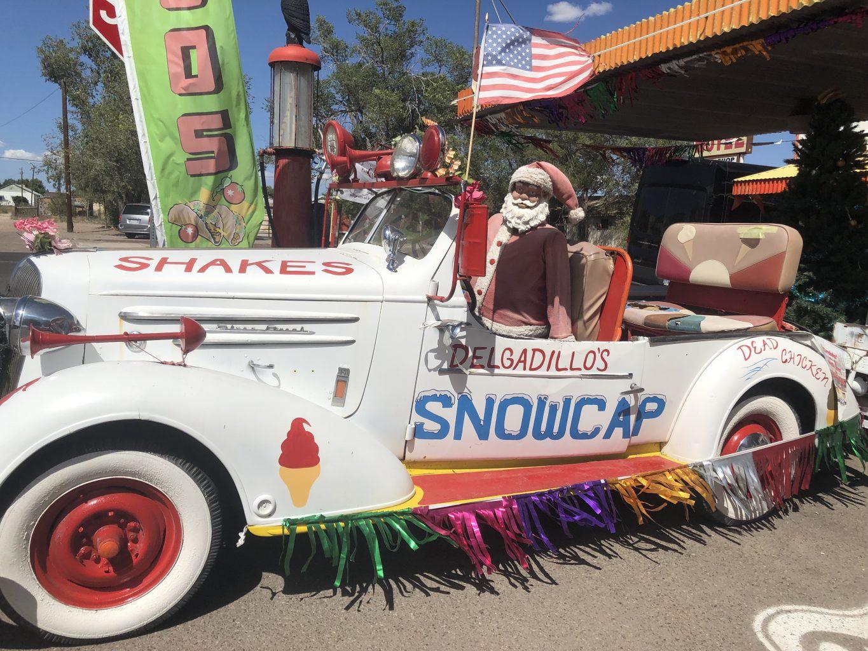 Snowcap. RUTA 66, Etapa 8: Page - Ruta 66- Desvío a Las Vegas
