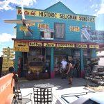Historic Seligman Sundries. RUTA 66, Etapa 8: Page - Ruta 66- Desvío a Las Vegas
