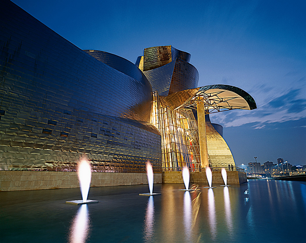 Fuente de Fuego. Museo Guggenheim Bilbao