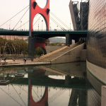 Arcos Rojos / Arku Gorriak. Museo Guggenheim Bilbao