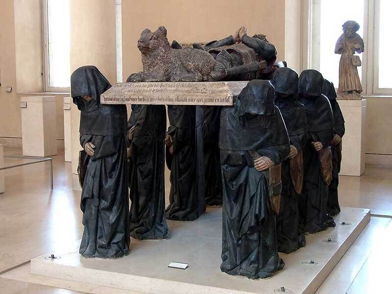 La tumba de Philippe Pot
