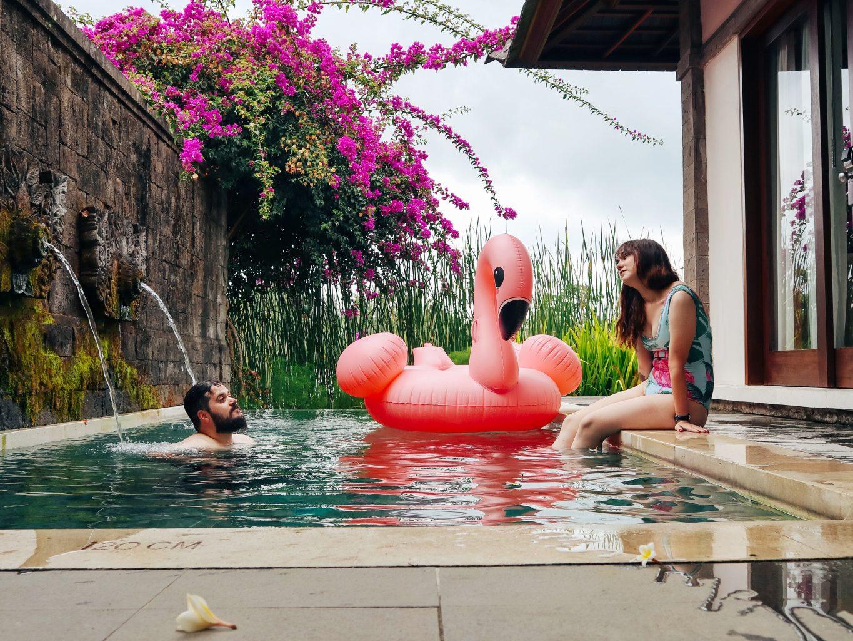 Villa privada del Visesa Ubud. Dónde alojarse en Bali
