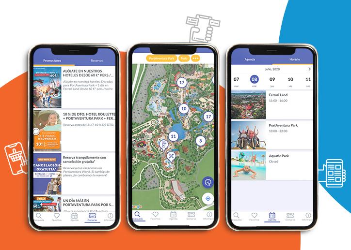 Descárgate la app de Port Aventura