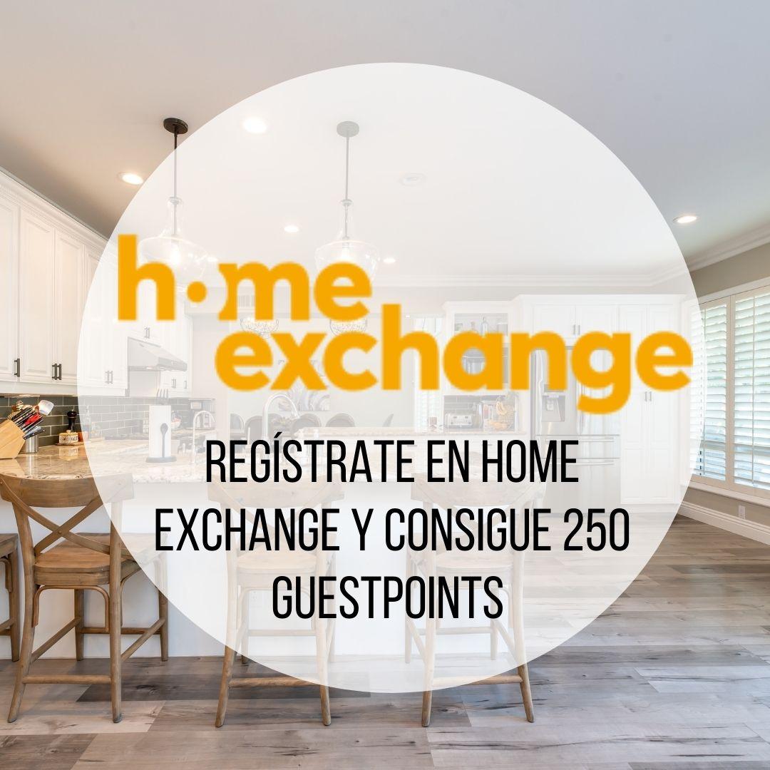 REGISTRATE EN HOME EXCHANGE